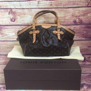 Louis Vuitton Tivoli GM Shoulder Bag w/Box &Duster